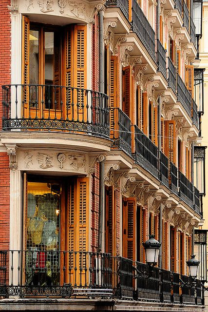 Balcones, Madrid, Spain