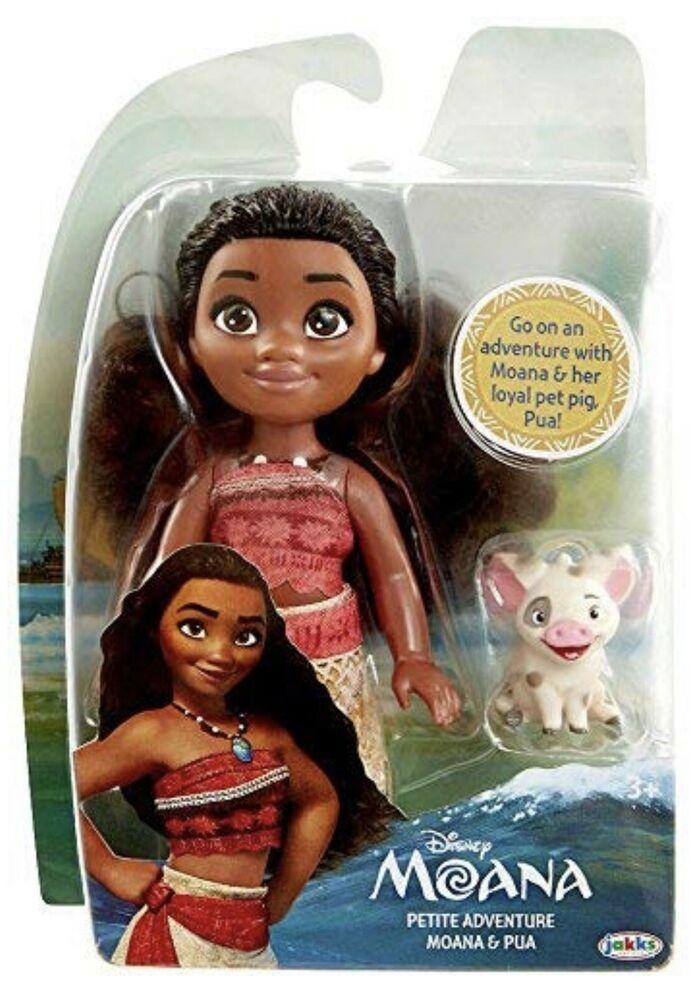 Disney Princess Petite Adventure Moana And Pua Doll Jakks Toys R