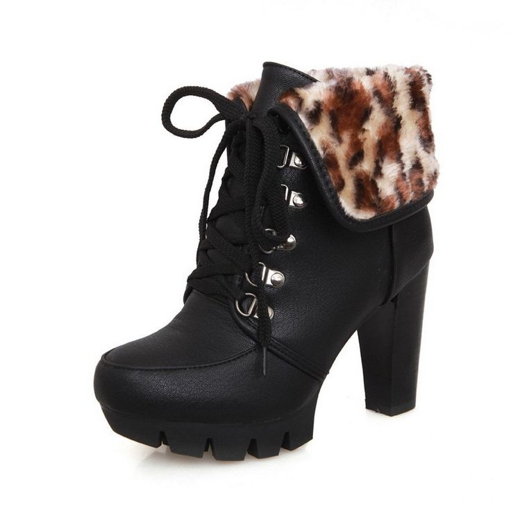 Best High Heel Winter Ankle Boots for Teen Girls 2015 ...