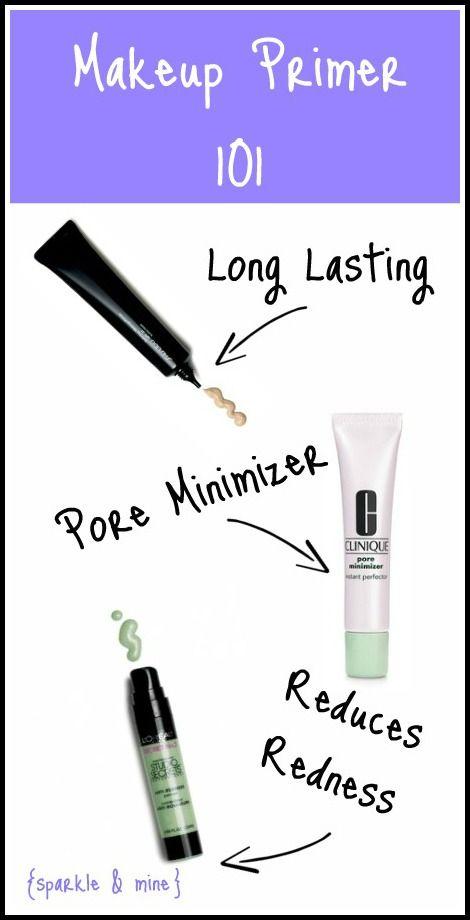 Makeup Primer 101 | sparkle and mine blog / >I'm finding that