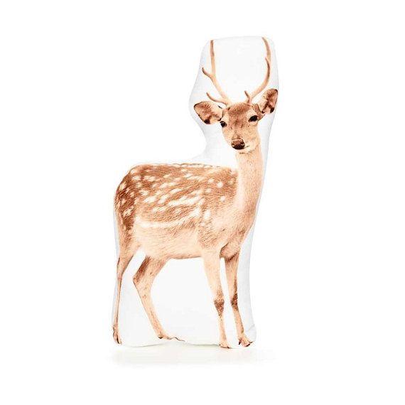 Deer Cushion Deer Pillow Deer Decor Unusual Gift Ideas