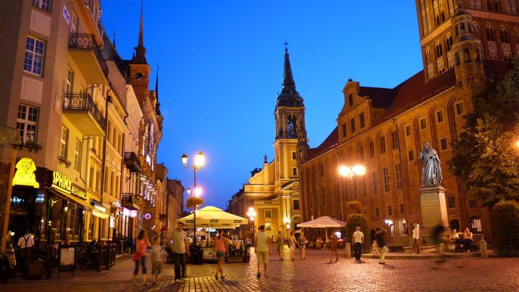 "Anna Mochnacka: ""This picture was taken in the medieval old town of Torun, which is the birthplace of the astronomer Nicolaus Copernicus (or in Polish, Mikolaj Kopernik)."""