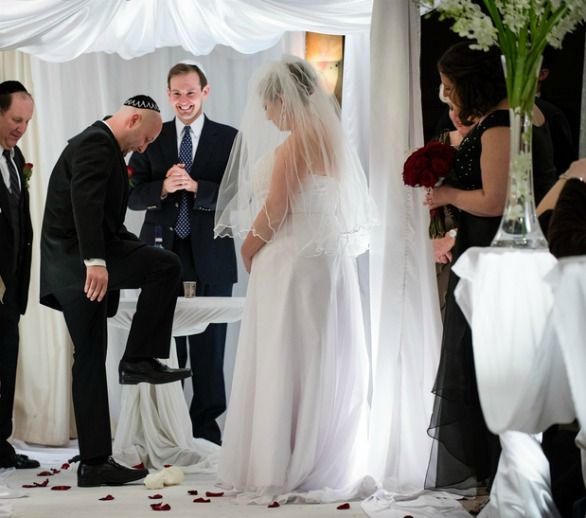 Reason for breaking glass at jewish wedding mini bridal - Breakable wedding glass ...