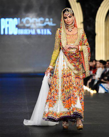 Nomi Ansari Latest Bridal Dresses Collection 2016-2017 Ft. Maya & Junaid | StylesGap.com