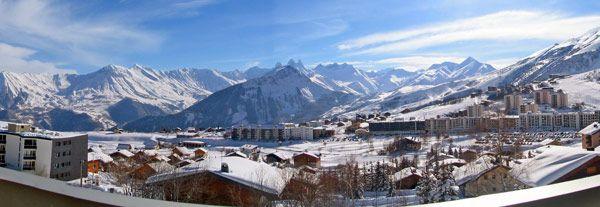 Un panorama qui doit sûrement vous donner envie de séjourner à La Toussuire :) #ski #Savoie
