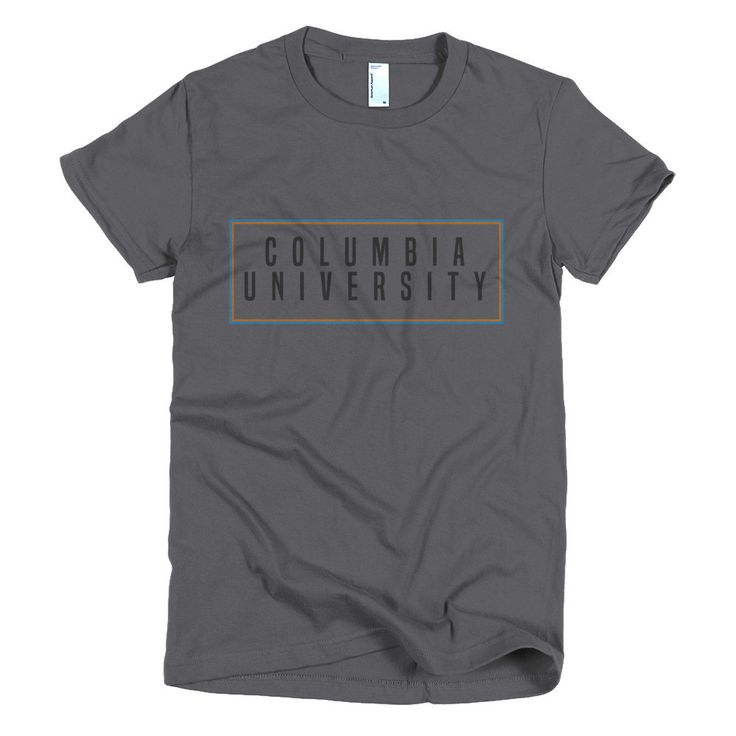 Our Columbia University tee pays tribute to the 20th century mosaic within the NYC subway system. The American Apparel t-shirt is the smoothest and softest t-shirt you'll ever wear. Made of fine jerse