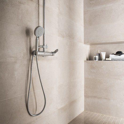Les 25 meilleures id es concernant salle de bains taupe sur pinterest murs - Carrelage taupe salle de bain ...