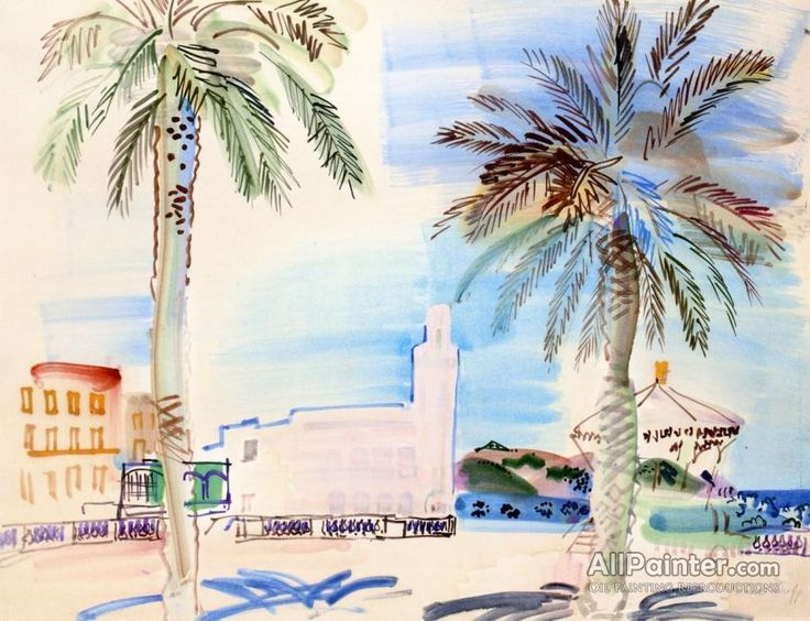 Raoul Dufy,Philippeville In Algeria oil painting reproductions for sale