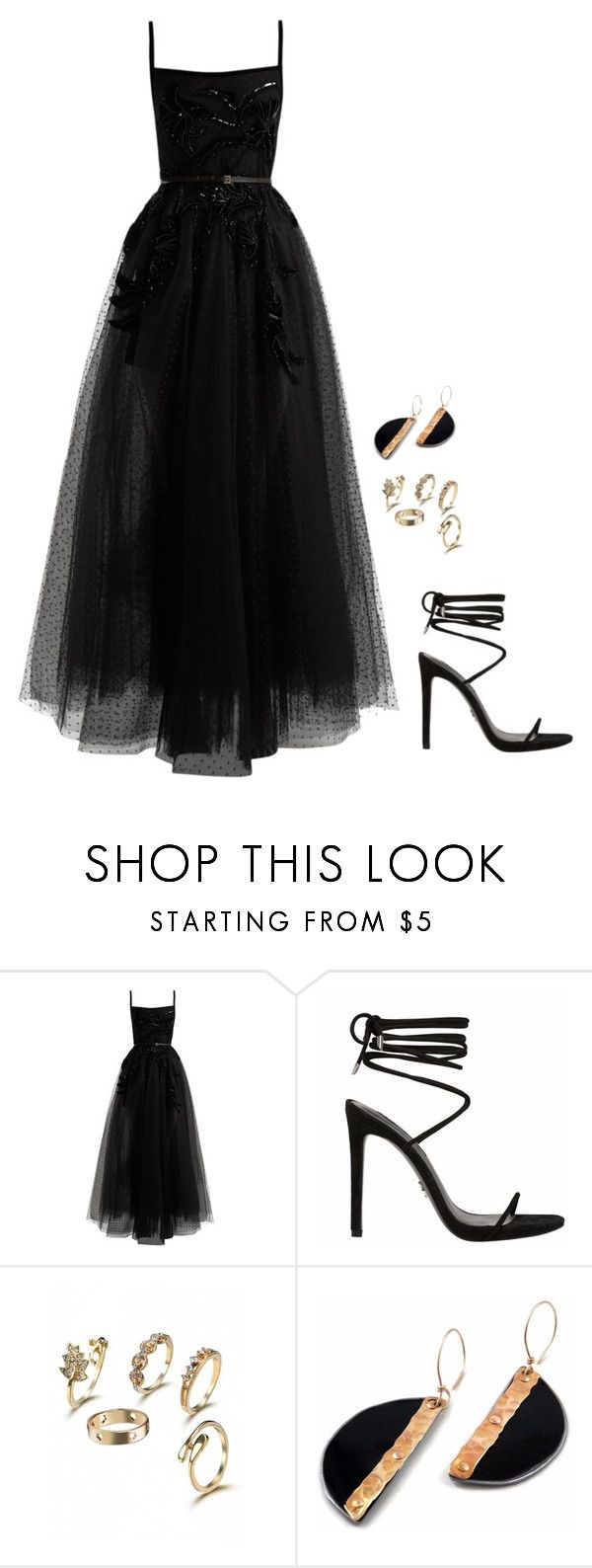 """Untitled #1252"" by h1234l on Polyvore featuring Elie Saab"