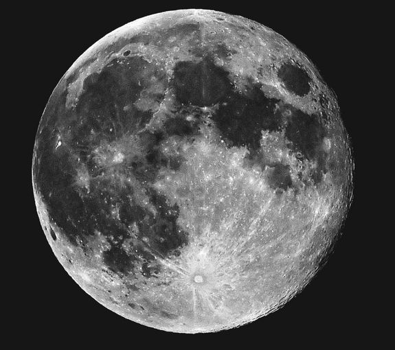 Full Moon from Portland