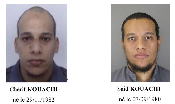 Paris suspects - Paris Prefecture de Police/Handout via Reuters