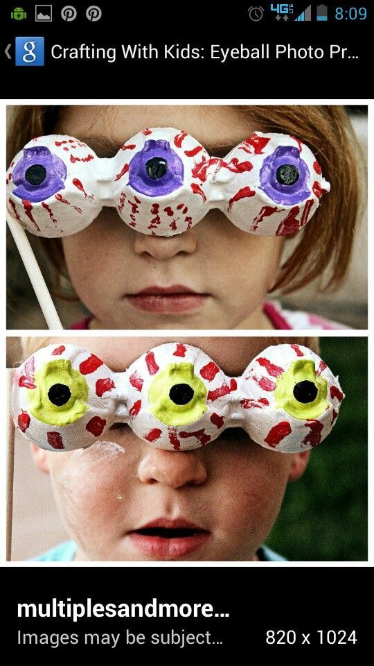 Monster party craft idea cute!!