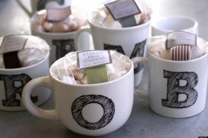originelle Porzellan-Tassen bemalen und verschenken