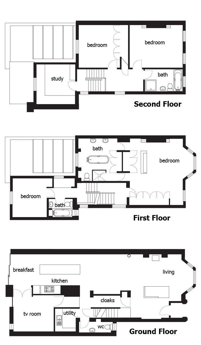The 14 best images about floor plans terraces on pinterest for Homebuilding com