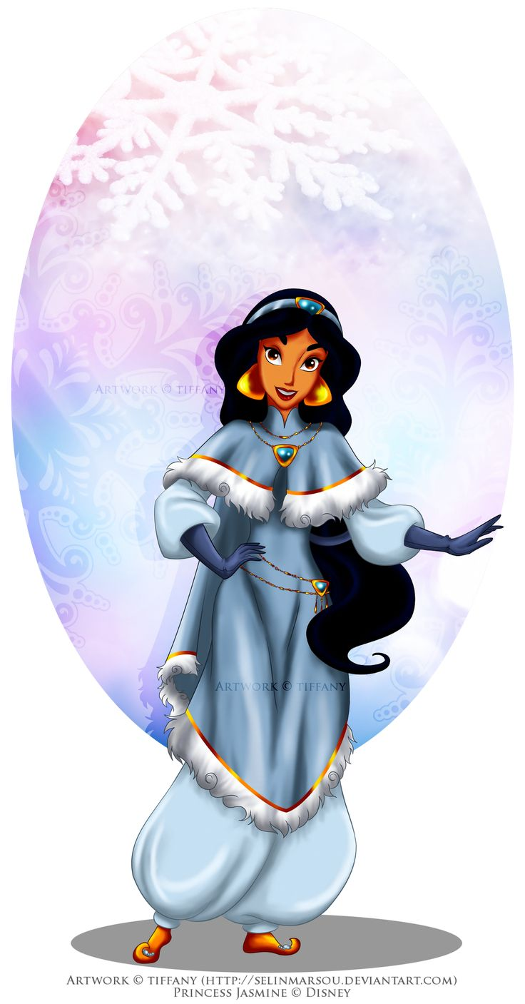Winter princess jasmine by on deviantart disney aladdin alice - Princesse jasmine disney ...