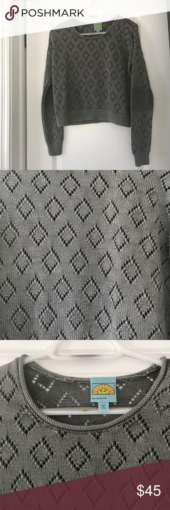 C&C California Sweater Size XS. No flaws. C&C California Sweaters Crew & Scoop Necks