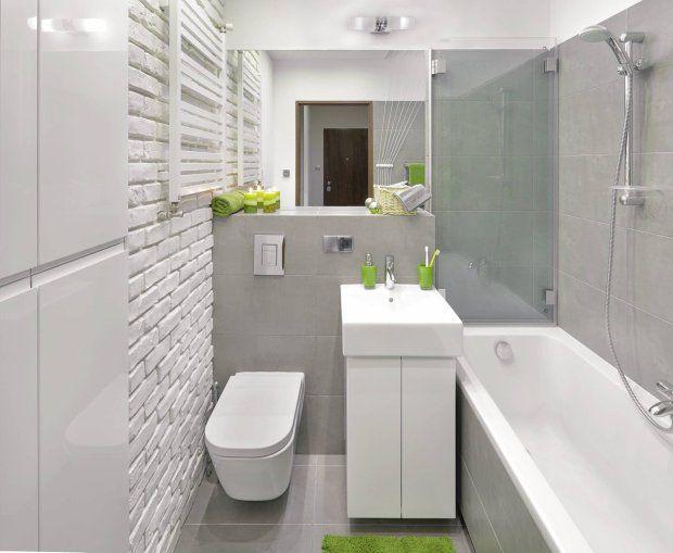Zdjęcie numer 5 w galerii - Pomysłowa metamorfoza małej łazienki w bloku