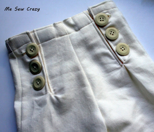 Sailor Pants from www.mesewcrazy.com (with tutorial).  OMG, SO CUTE!!!!  You can change this pattern into little sailor shorts as well.
