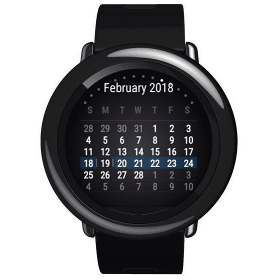"""This app will display a calendar as a widget after you reboot you watch (or the launcher). In order to move this widget you will need @Quinny899's """"Springboard Settings"""" app fromheresince it can't be moved through the phone app. This is the first app for the Amazfit Pa..."""