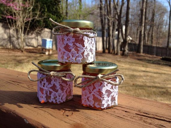 30 Qty Mini Honey Jars Favors 1.5oz for by UHomeTaste on Etsy