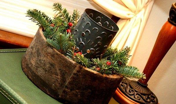 extraordinary christmas table centerpiece | Christmas, 17 Extraordinary Rustic Christmas Decorating Ideas : Ideas ...