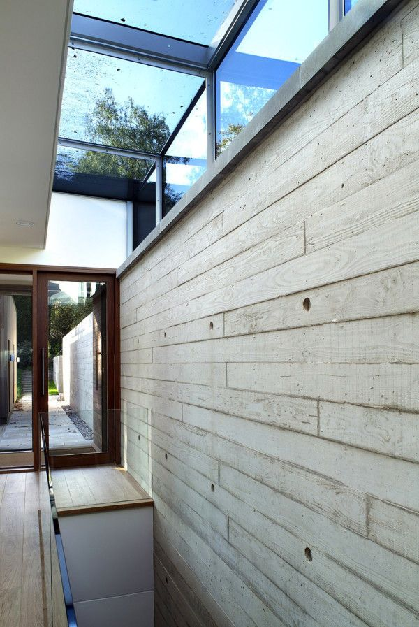 Wooden Wall House from Best Retreat House Design by New Forest House in UK 600x897 Best Retreat House Design by New Forest House, in UK