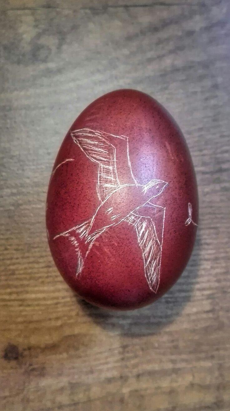 Jaskółka Pisanka Skrobaczki Wielkanoc