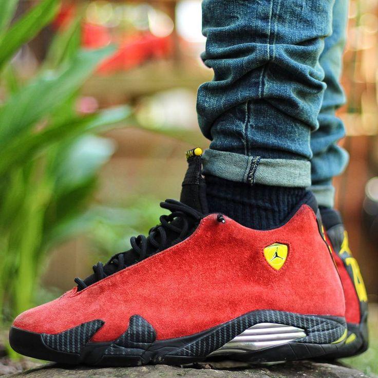 Air Jordan 14 Retro Ferrari Ongles Rouge jeu best-seller 2014 nouveau rabais cfvveIU