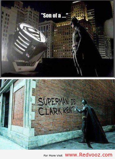 funny batman and superman | batman vs superman jokes | RedVooz - The World of Technolgy and Fun