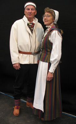 FolkCostume&Embroidery: Overview of Norwegian costume, part 4 The North. Kven
