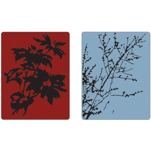 Sizzix Embossing Folders Holtz 2/Pk-Brush Poinsettias/Winter Berries by Tim Holtz. $8.55. Brand New Item / Unopened Product. 658273. Sizzix. 841182070722. Distress to impress! Textured Fades Embossing Folders easily emboss in such a way that select areas of the image appear perfectly faded and distressed. You can turn ordinary cardstock, paper, metallic foil or vellum into an embossed, textured masterpiece. This set of Embossing Folders showcases the bold and edgy style of Tim H...