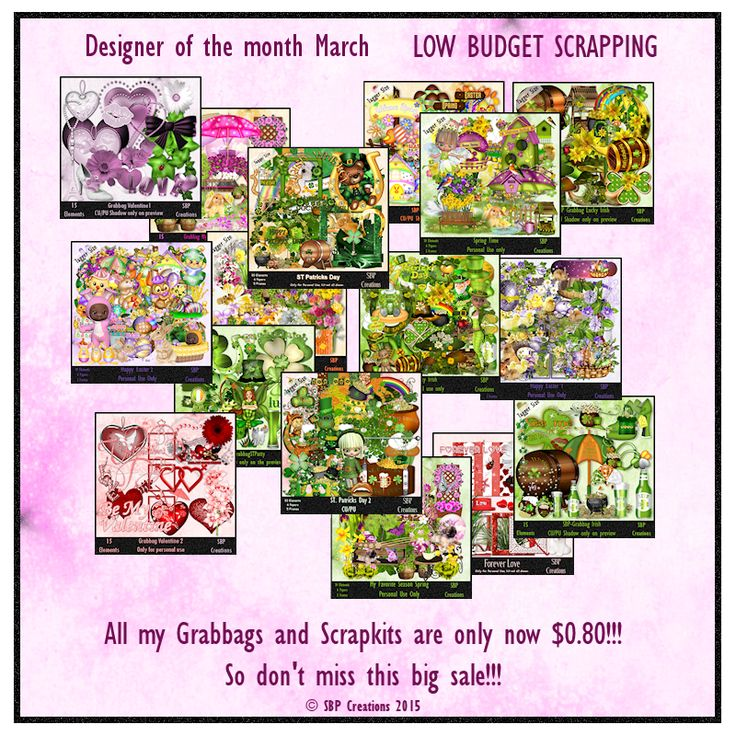 SBP Creations: Designer of the month LBS