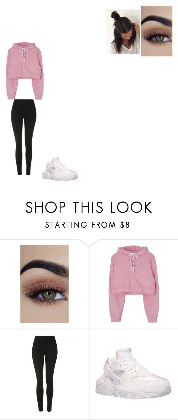 """""""Untitled #828"""" by melissaperez427 on Polyvore featuring Topshop and NIKE"""