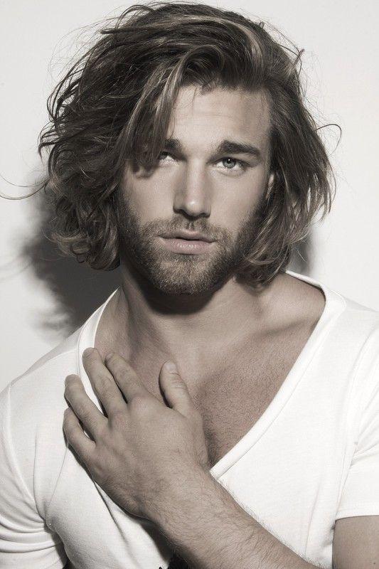 Cole Monahan Long Haired Bearded Men Pinterest