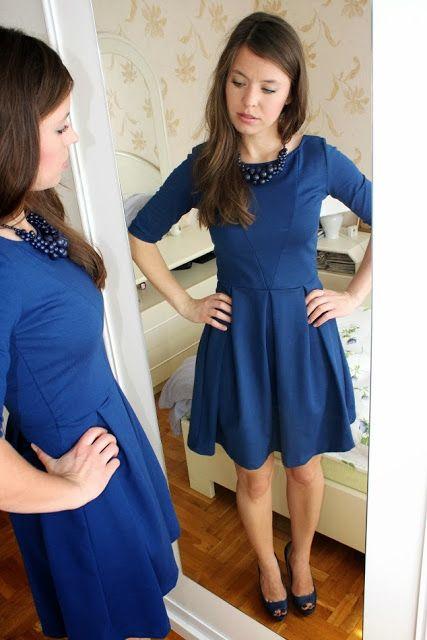 W Swoim Stylu: Rozkloszowana sukienka - dla jakiego typu sylwetki?