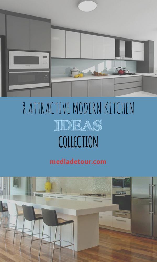 8 Attractive Modern Kitchen Ideas Collection Modern Kitchen Kitchen Design Simple Kitchen