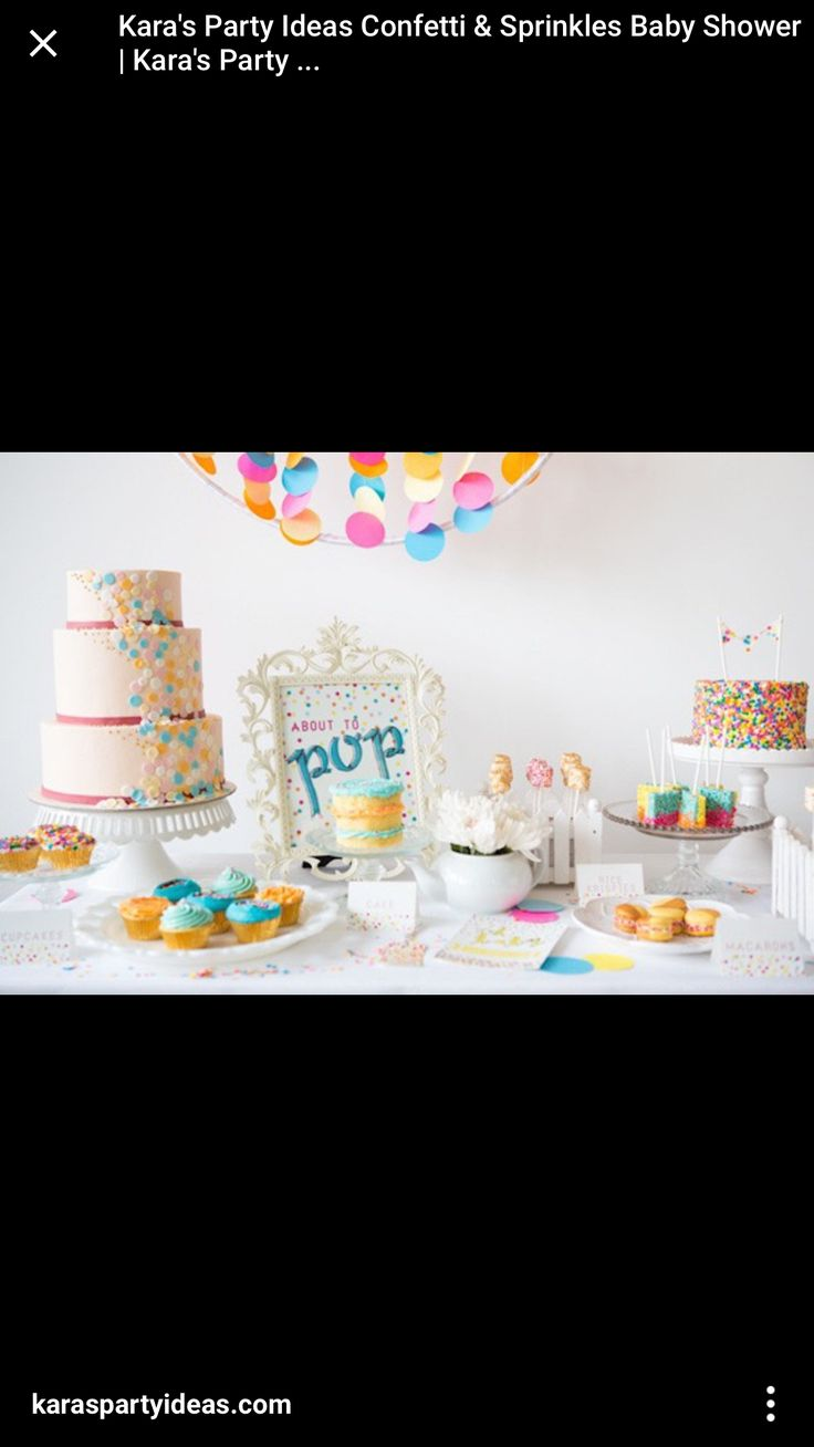 From kara s party ideas rustic dessert table display designed by - Confetti And Sprinkles Baby Shower A Baby And Breakfast Editorial