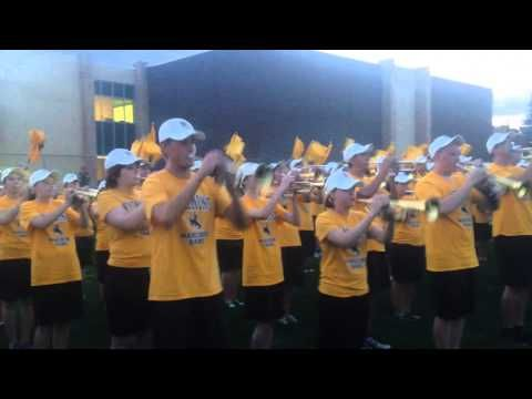 University of Wyoming Marching Band Performs Ragtime Cowboy Joe - YouTube
