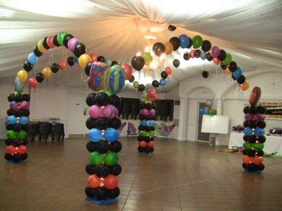 17 curated balloon dance floors ideas by myefavors for Balloon dance floor decoration