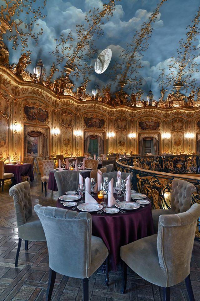 design interior restaurent - Beaded Inset Restaurant Interior