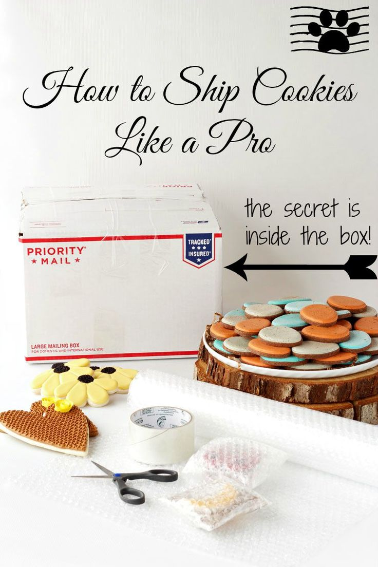 This tutorial and video will show you my secret trick on how to ship cookies like a pro. It will protect your cookies and save you money!
