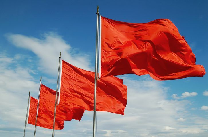 Red flags dating someone new