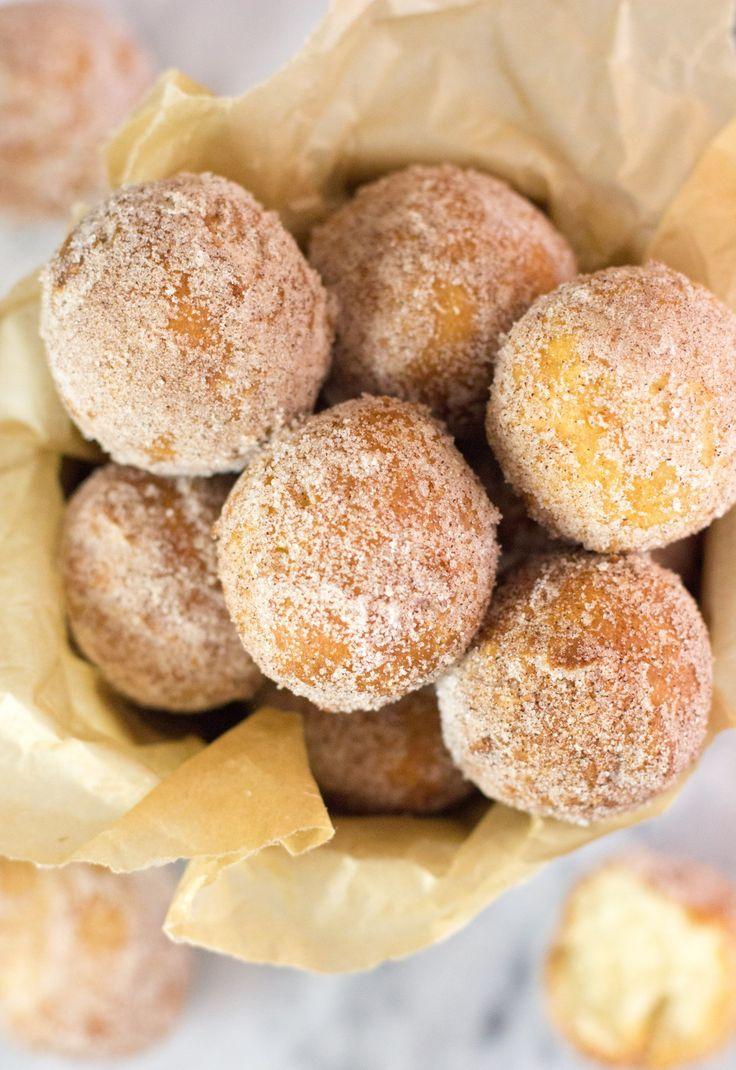 Easy, Homemade Fried Donut Holes (no yeast) @SugarSpunRun