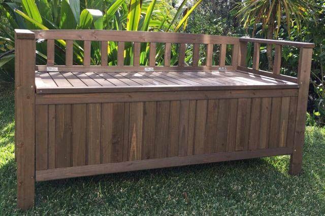 10 Charming Diy Outdoor Storage Ideas Wooden Garden Benches