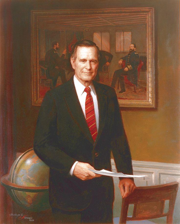 41st PRES of the UNITED STATES GEORGE HERBERT WALKER BUSH 1989-1993 VP DAN QUALE