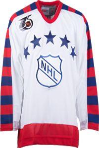 NHL All-Star CCM Vintage 1992 White Replica NHL Hockey Jersey