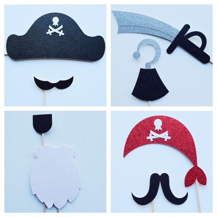 Accessoires de pirate Photo Booth Fête par LetsGetDecorative