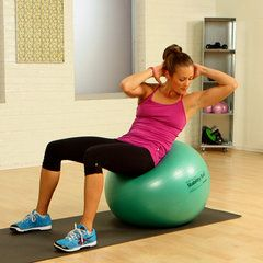 A Stability Ball Workout For Your Abs