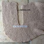 Мобильный LiveInternet Вязание спицами - Жакет с полочками частичным вязанием | koko_shik - Дневник koko_shik |