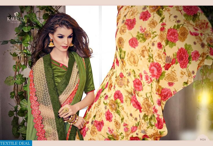 Explore and Buy Now #KalistaFashion Wholesale Present Exclusive Indian #EthnicSarees Catalogs at Affordable Price…